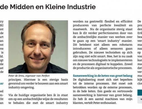 Smart Industry in de Midden en Kleine Industrie.